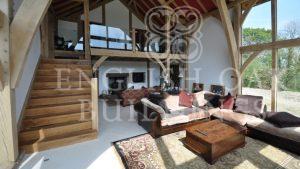 Green Oak Frame House, Cornwall