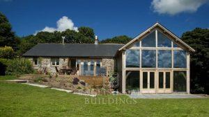 Oak Frame House, Cornwall