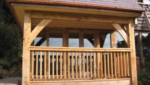Oak porch veranda