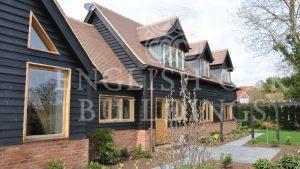 Oak Frame house, with dormer windows, Holyport, Berkshire