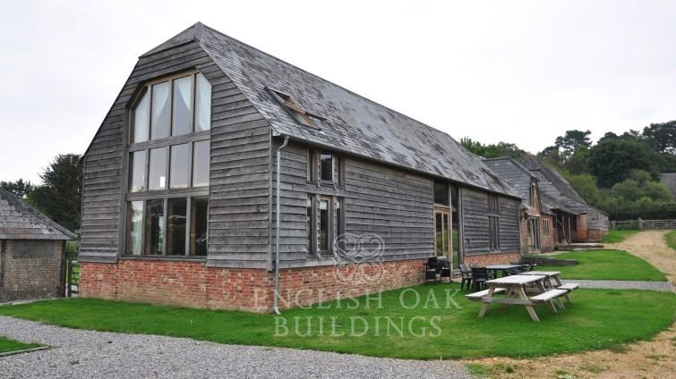 Oak Framed Barn Conversion Wiltshire Hand Crafted In The Uk