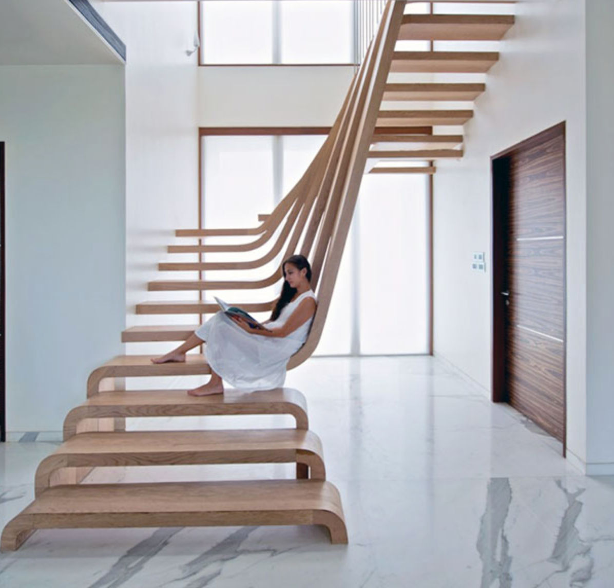 Five Wooden Staircases We Wish We Owned